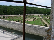 Zahrady u zámku Château de Chenonceau (Larssen)